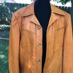 Vintage Buttery Soft Men's Leather Jacket